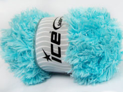 Lot of 2 x 200gr Skeins Ice Yarns LAMBKIN (100% MicroFiber) Yarn Baby Blue