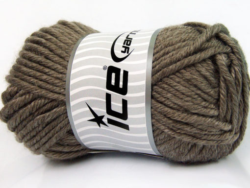 Lot of 2 x 200gr Skeins Ice Yarns ATLAS JUMBO Hand Knitting Yarn Camel