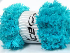 Lot of 2 x 200gr Skeins Ice Yarns LAMBKIN (100% MicroFiber) Yarn Turquoise