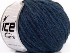 Lot of 8 Skeins Ice Yarns GRINTA LANA (50% Wool) Hand Knitting Yarn Navy