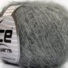 Lot of 10 Skeins Ice Yarns FREDDY WOOL (26% Wool 16% Viscose) Yarn Light Grey