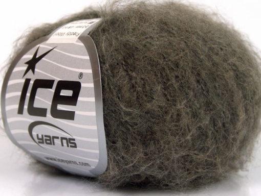 Lot of 10 Skeins Ice Yarns FREDDY WOOL (26% Wool 16% Viscose) Yarn Dark Camel
