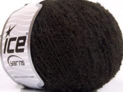 Lot of 8 Skeins Ice Yarns ALPACA BOUCLE FINE (25% Alpaca 25% Wool) Yarn Dark Brown