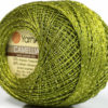 Lot of 10 Skeins YarnArt Camellia CAMELLIA (30% Metallic) Yarn Green
