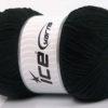 Lot of 4 x 100gr Skeins Ice Yarns LORENA SUPERFINE (55% Cotton) Yarn Black