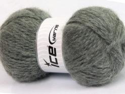 Lot of 2 x 150gr Skeins Ice Yarns SuperBulky ALPINE ANGORA (30% Angora) Yarn Grey