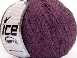 Lot of 6 Skeins Ice Yarns AMIGURUMI CHENILLE Hand Knitting Yarn Purple