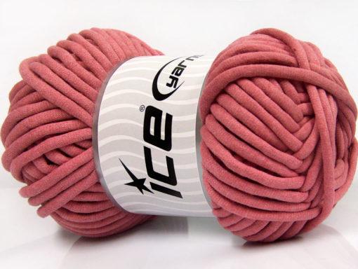250 gr ICE YARNS TUBE COTTON JUMBO (40% Cotton) Hand Knitting Yarn Orchid