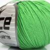 Lot of 8 Skeins Ice Yarns BABY SUMMER (60% Cotton) Yarn Light Green