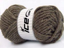 Lot of 4 x 100gr Skeins Ice Yarns ATLAS SUPERBULKY Hand Knitting Yarn Camel