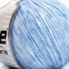 Lot of 8 Skeins Ice Yarns BAMBOO SOFTAIR (15% Bamboo) Yarn Light Blue Melange