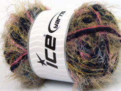 Lot of 4 x 100gr Skeins Ice Yarns TECHNO WOOL SUPERBULKY (30% Wool) Yarn Pink Green Blue Navy