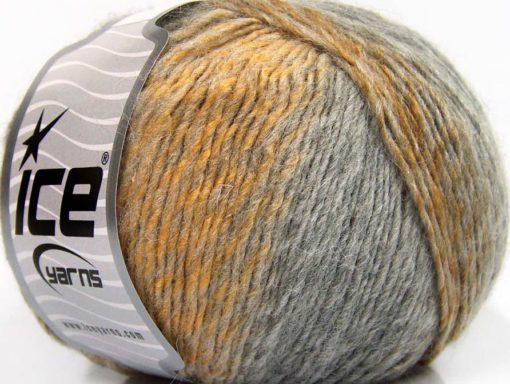 Lot of 8 Skeins Ice Yarns ROSETO (30% Wool) Yarn Brown Shades Grey Shades