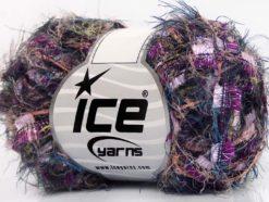 Lot of 8 Skeins Ice Yarns TECHNO QUINTE Yarn Purple Fuschia Lilac Blue Salmon Light Green