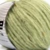 Lot of 8 Skeins Ice Yarns SOFTAIR TWEED (4% Viscose) Yarn Light Green