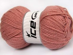 Lot of 4 x 100gr Skeins Ice Yarns CHAIN PAILLETTE (2% Paillette) Yarn Pink