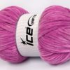 Lot of 4 x 100gr Skeins Ice Yarns CHENILLE BABY LIGHT (100% MicroFiber) Yarn Light orchid