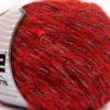 Lot of 4 x 100gr Skeins Ice Yarns ALPACA SHINE (19% Alpaca) Yarn Red Grey Black