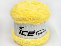 Lot of 3 x 100gr Skeins Ice Yarns CAKES PANDA (100% MicroFiber) Yarn Yellow