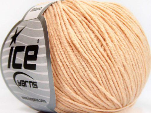 Lot of 8 Skeins Ice Yarns ALARA (50% Cotton) Hand Knitting Yarn Light Salmon