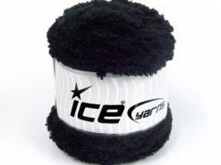 Lot of 3 x 100gr Skeins Ice Yarns CAKES PANDA (100% MicroFiber) Yarn Black