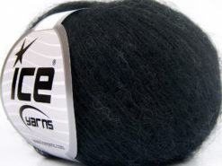 Lot of 10 Skeins Ice Yarns BABY ALPACA SUPERFINE (40% Baby Alpaca 10% Merino Wool) Yarn Black