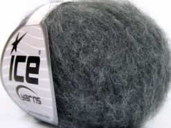 Lot of 10 Skeins Ice Yarns ALPACA SUPERFINE WOOL COMFORT (28% Alpaca Superfine 31% Wool) Yarn Grey