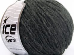 Lot of 8 Skeins Ice Yarns ETNO ALPACA (25% Alpaca 50% Merino Wool) Yarn Anthracite Black
