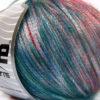 Lot of 8 Skeins Ice Yarns ROCK STAR COLOR (19% Merino Wool) Yarn Red Green Shades