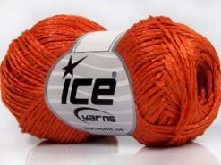 Lot of 8 Skeins Ice Yarns QUARTZ Hand Knitting Yarn Dark Orange