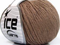 Lot of 8 Skeins Ice Yarns BABY MERINO SOFT (40% Merino Wool) Yarn Camel
