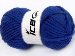 Lot of 4 x 100gr Skeins Ice Yarns ELITE WOOL SUPERBULKY (50% Wool) Yarn Purple