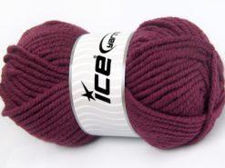 Lot of 4 x 100gr Skeins Ice Yarns ELITE WOOL SUPERBULKY (50% Wool) Yarn Fuchsia