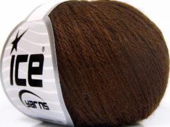 Lot of 8 Skeins Ice Yarns BABY MERINO SOFT DK (40% Merino Wool) Yarn Dark Brown