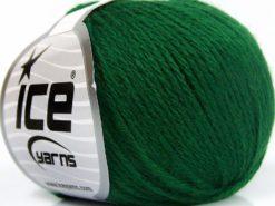 Lot of 8 Skeins Ice Yarns BABY MERINO SOFT DK (40% Merino Wool) Yarn Emerald Green