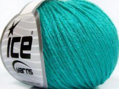 Lot of 8 Skeins Ice Yarns BABY MERINO SOFT DK (40% Merino Wool) Yarn Turquoise