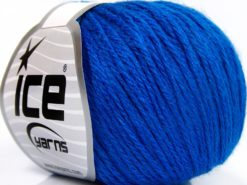 Lot of 8 Skeins Ice Yarns BABY MERINO SOFT DK (40% Merino Wool) Yarn Dark Blue