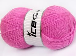 Lot of 4 x 100gr Skeins Ice Yarns KRISTAL Hand Knitting Yarn Light Lilac