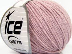 Lot of 8 Skeins Ice Yarns BABY MODAL (55% Modal) Hand Knitting Yarn Powder Pink