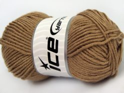 Lot of 8 Skeins Ice Yarns ELITE BABY Hand Knitting Yarn Camel
