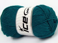 Lot of 8 Skeins Ice Yarns ELITE BABY Hand Knitting Yarn Emerald Green