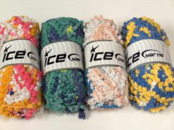 Lot of 4 x 100gr Skeins Ice Yarns BOUCLERON CHAIN Hand Knitting Yarn Mixed Lot