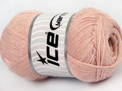 Lot of 4 x 100gr Skeins Ice Yarns NATURAL COTTON AIR (100% Cotton) Yarn Powder Pink