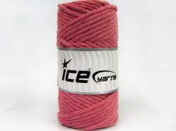 250 gr ICE YARNS NATURAL COTTON JUMBO (100% Cotton) Yarn Light orchid