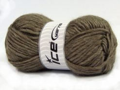 Lot of 4 x 100gr Skeins Ice Yarns MOHAIR BULKY (5% Mohair 10% Wool) Yarn Mink