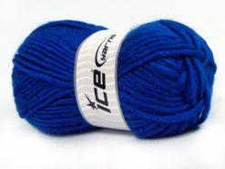 Lot of 4 x 100gr Skeins Ice Yarns MOHAIR BULKY (5% Mohair 10% Wool) Yarn Dark Blue