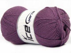 Lot of 4 x 100gr Skeins Ice Yarns WAYUU Hand Knitting Yarn Light Maroon