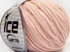 Lot of 8 Skeins Ice Yarns TUBE COTTON (70% Cotton) Hand Knitting Yarn Baby Pink