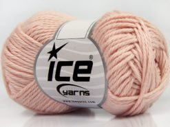Lot of 8 Skeins Ice Yarns PURE COTTON (100% Cotton) Yarn Baby Pink