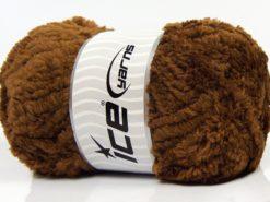 Lot of 4 x 100gr Skeins Ice Yarns PANDA (100% MicroFiber) Yarn Brown